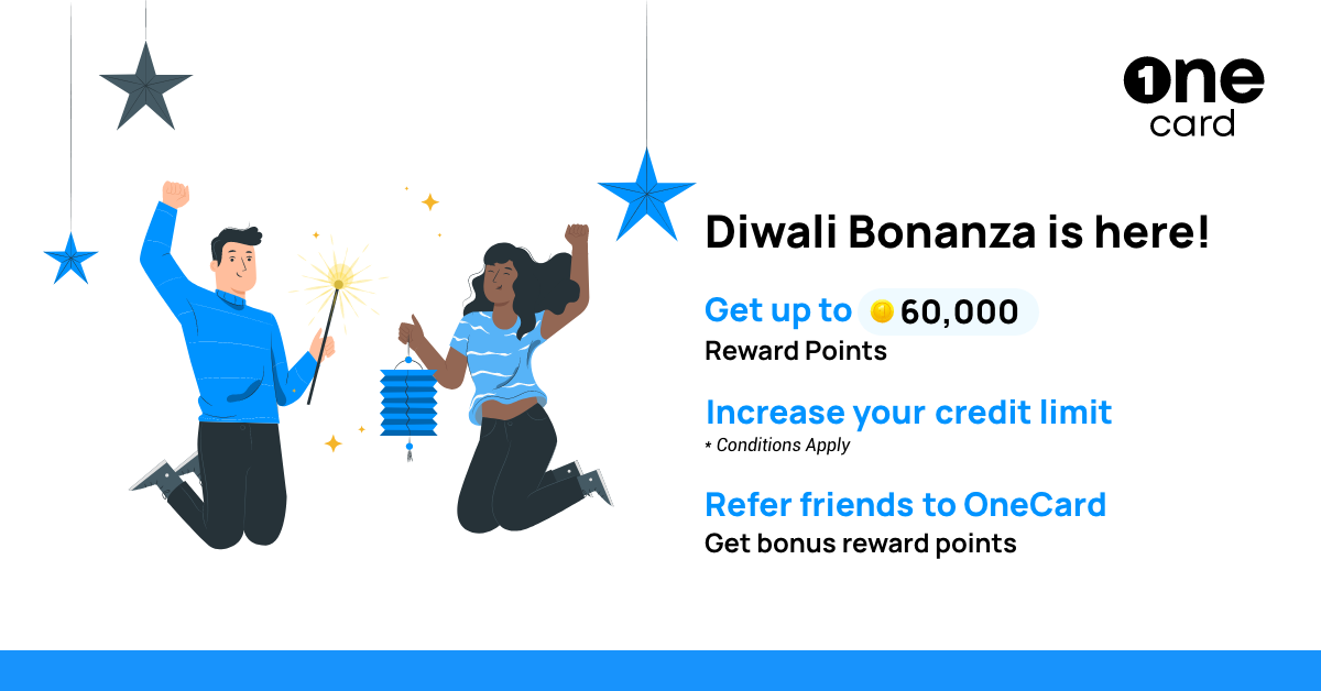 Light up Diwali with OneCard Bonanza